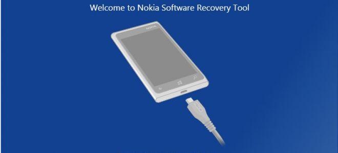 Программа Nokia Lumia Software Recovery Tool