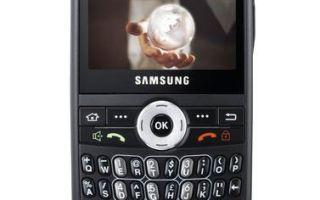 samsung sgh-i600 характеристики