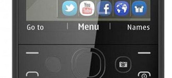 мобильный телефон nokia asha 210 характеристики