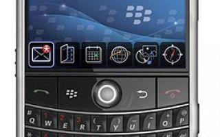 blackberry bold 9000 характеристики