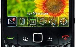 blackberry curve 8520 характеристики