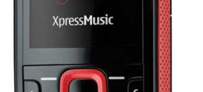 nokia 5320 xpressmusic характеристики