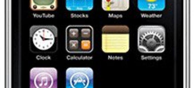 apple iphone 3g 8gb характеристики