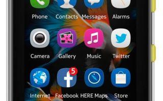 мобильный телефон nokia asha 500 dual sim характеристики