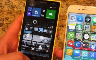 Два способа перенести контакты с Windows Phone на iPhone