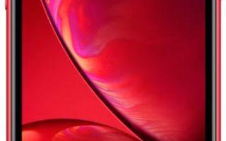 apple iphone xr 256gb dual sim red характеристики
