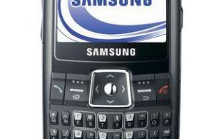 samsung sgh-i320 характеристики