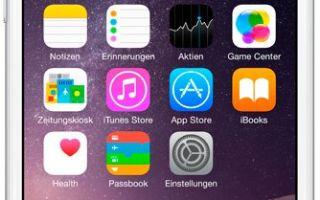 apple iphone 6 plus 128gb silver характеристики
