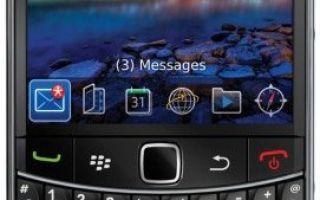 blackberry bold 9700 характеристики
