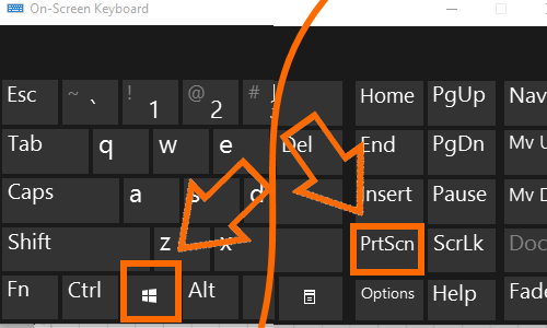 Windows и Print Screen